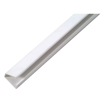 Moulure pour câble autocollant blanc 20 x 10 mm - long. 2 m
