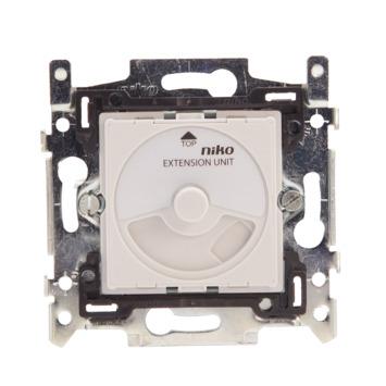 Extension variateur universel à bouton rotatif Niko 5-325W - convient pour LED