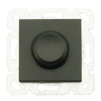 GAMMA draaiknopdimmer 600 W zwart