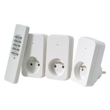 Trust Smarthome AC3-1000R set van 3 stopcontacten 1000 W incl. afstandsbediening
