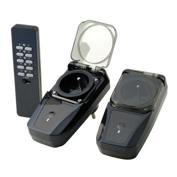 Jeu de 3 prises 3500 W avec télécommande Trust Smarthome AGD2-3500R