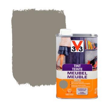 V33 tint meubel deco zijdeglans gerookt grijs 500 ml