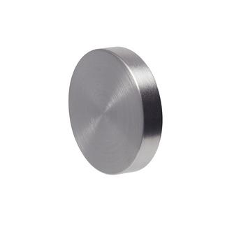 Intensions Koker Design knop rond plat RVS ø28mm 2 st