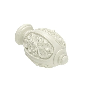 Intensions Classic knop Versaille wit ø20 mm 2 st