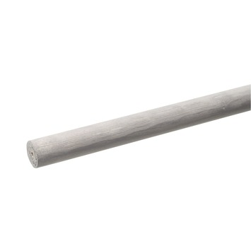 Tringle Intensions Classic métal gris ø28 mm 120 cm
