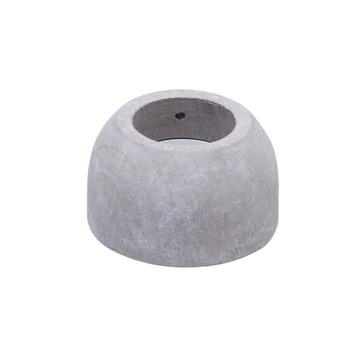 Support demi-rond Intensions Natural FSC embrasure argile ø28 mm 2 pièces