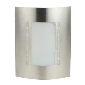 Applique extérieure Glasgow GAMMA E27 60W inox ampoule non fournie