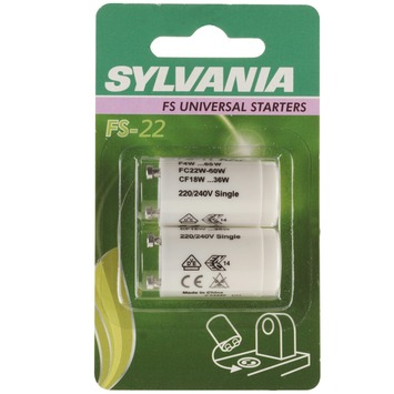 Sylvania starter FS-22 serieschakeling 2 stuks