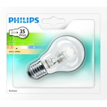 Ampoule poire Philips Eco Halo E27 370 Lm 28W = 35W