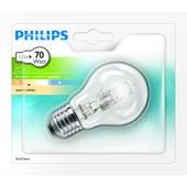 Philips ecohalogeen peerlamp  E27 850 lumen 53W = 70W