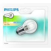 Philips ecohalogeen kogellamp E27 204 lumen 18W = 23W dimbaar