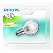 Philips ecohalogeen kogellamp E14 204 lumen 18W = 23W