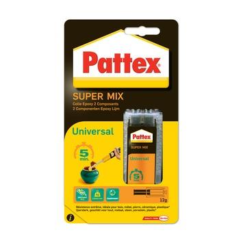 Colle epoxy Super mix universal Pattex 11 ml