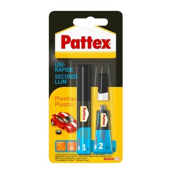 Colle uni-rap Pattex plastics 4 ml