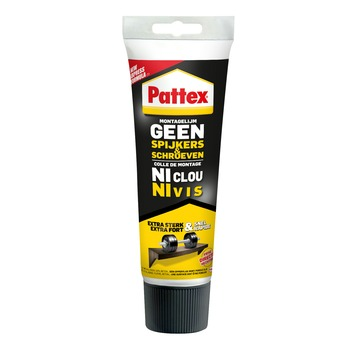 Pattex Geen Spijkers & Schroeven montagelijm 250 g