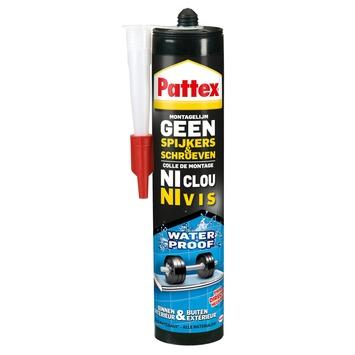 Pattex Geen Spijkers & Schroeven montagelijm waterproof 450 g
