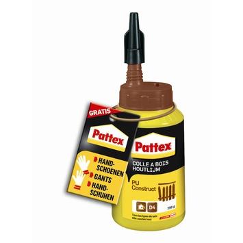 Colle à bois polyuréthane Pattex 250 g