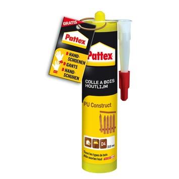 Colle à bois PU construct Pattex 310 ml