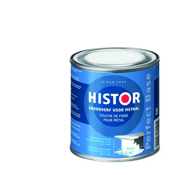 Histor Perfect Base grondverf metaal wit 250 ml