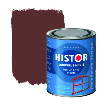 Histor Perfect Base loodvrije menie roodbruin 750 ml