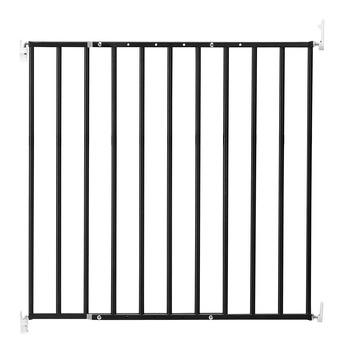 Barri re d 39 escalier evi essentials anthracite 61 109 cm - Barriere de securite haut d escalier ...
