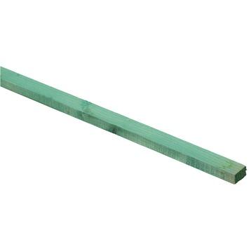 Panlat gedrenkt vuren groen 19x32 mm 240 cm