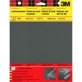 3M schuurpapier watervast P400 4 stuks