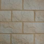 Briques de parement Euroc 10 crème nuance 0,5 m²