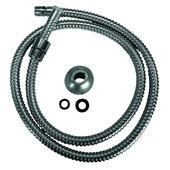 """Van Marcke GO kraanslang flexibel voor keukenkraan met gewicht 1/2""""F x 3/8""""M - 120 cm"""