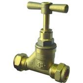 Van Marcke GO Raccord biconique robinet d'arrêt Ø15 x Ø15 1 pièce