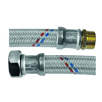 """Van Marcke aansluiting flexibel voor waterteller 4/4""""F x 3/4""""M l=60 cm"""