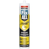 Soudal Fix All montage- en afdichtingskit turbo wit 290 ml