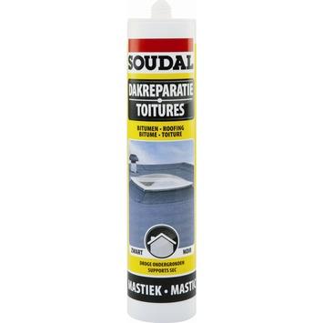 Mastic toitures Soudal noir 300 ml