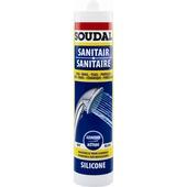 Soudal sanitairkit transparant 300 ml