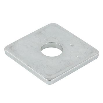 Rondelle carrée GAMMA M08 30x30 zingué 4 pièces