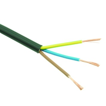 Profile VTLB-kabel zwart 3x0,75 mm2 - lengte 5 m