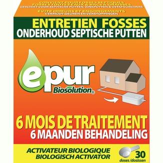 epur biosolution activateur fosses septiques 750 g produits de nettoyage nettoyage. Black Bedroom Furniture Sets. Home Design Ideas