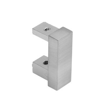 Intensions Practical Design eindknop voor rail cilinder inox 2 st