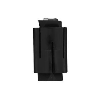 Raccord de montage roulette Ø 42 mm fer