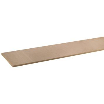 Panneau de meuble en MDF pefc 18 mm 244x30 cm