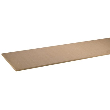 Meubelpaneel MDF bruin pefc 244x40 cm 18 mm
