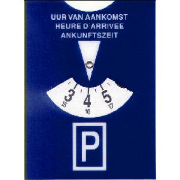 Disque de stationnement Pickup bleu