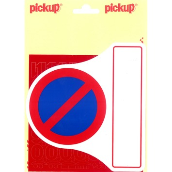 Pickup parkeerverbodset