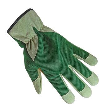 Gants de jardin en cuir GAMMA vert XL