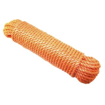 Touw 8 mm 20 meter polypropyleen oranje