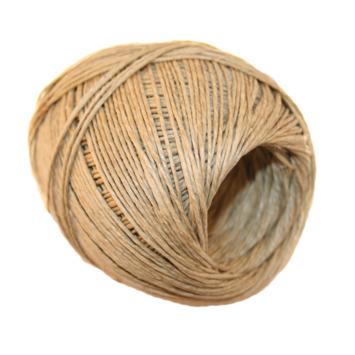 Corde en lin 1 mm 90 m brun
