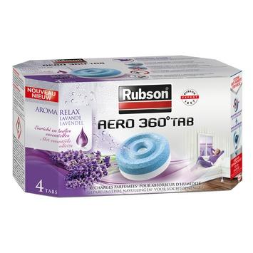 Recharge pour absorbeur d'humidité Aéro 360° Rubson printemps 4x 450 g