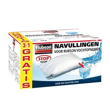 Recharge pour absorbeur d'humidité Rubson neutre 3+1 kg