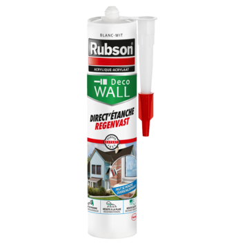 Mastic acrylique direct'étanch Rubson blanc 280 ml