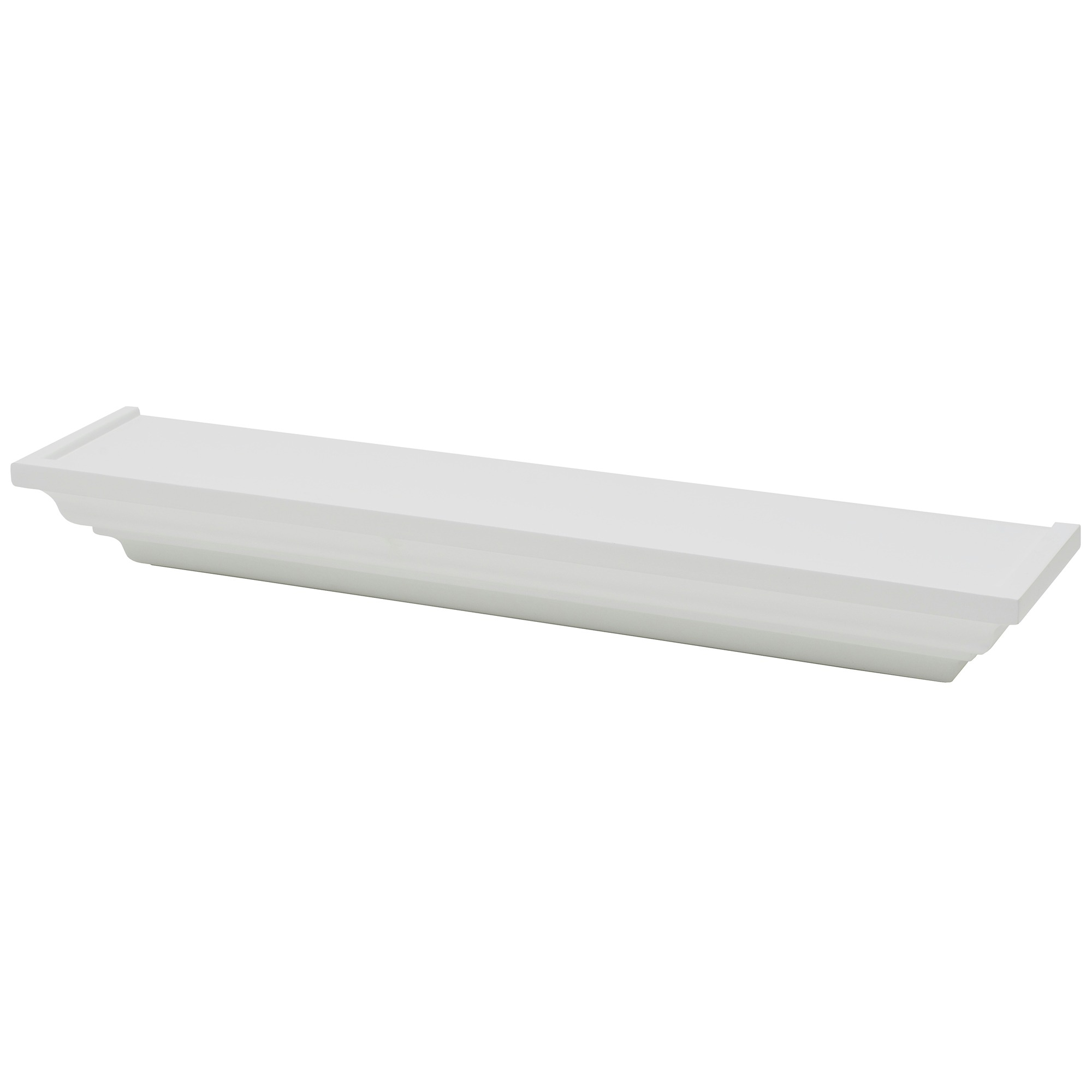 Tablette classique duraline ornament 60 cm blanc for Tablette duraline